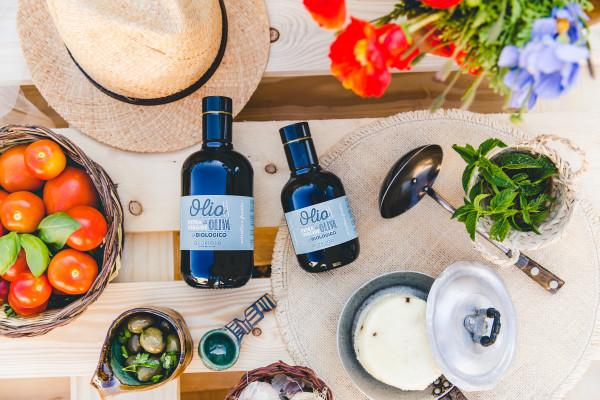 Olio di Oliva Extra Vergine Biologico 0,5l und 0,25l Flasche